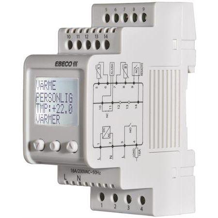 termostat golvvärme el t2