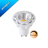 Spotlight LED Klar GU10 5,5W(45W)