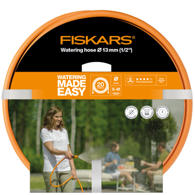 Fiskars Vattenslang Q4 20m Ø13mm(1/2)