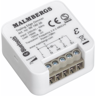 Bluetooth dimmer malmbergs