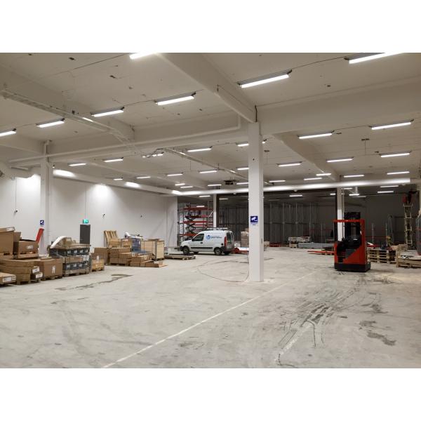 Ekstra LED Industriarmatur öppen, IP23 - Industrilampor - Wattväktarna IP48