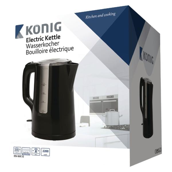 Vattenkokare Sladdlös 1,7 l König Electronics Wattväktarna