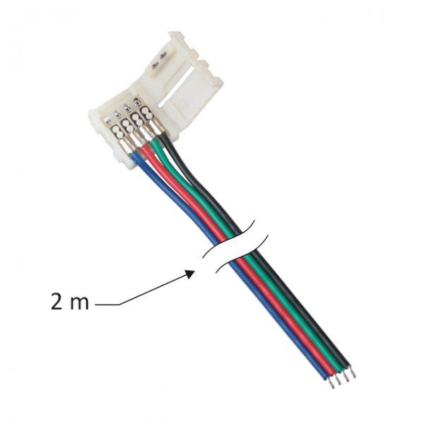 Anslutningskabel F 246 R Rgb Led Strip 10 Mm Led Tillbeh 246 R